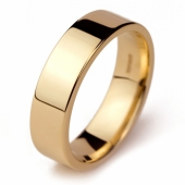 Gold wedding ring