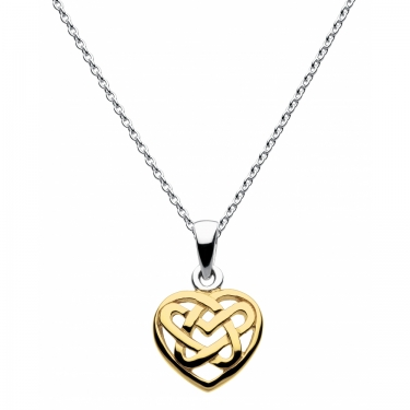 Gold Plated Celtic Pendant