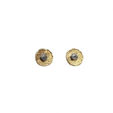 Silver Gold plated studs