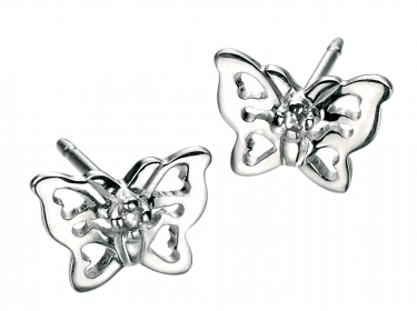 Children's silver earrings