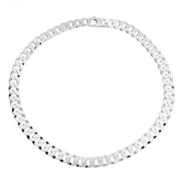 Men's Heavy silver necklace