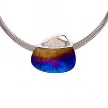 Anodised Titanium Necklace