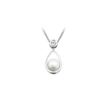Silver & Pearl Pendant