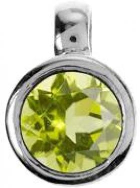 Silver & Peridot Pendant