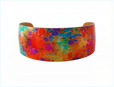Anodised Aluminium Bangle
