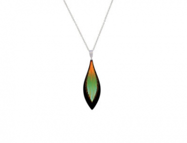 Anodised Aluminium necklace