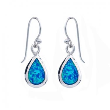 Silver Opalique Earrings